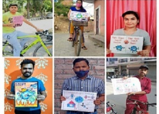 "Online Awareness Camp and Cycle Rally in pursuance of ""TeekaKaran Utsav"""
