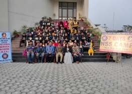 NSS seven days camp concluded on Jan 2, 2020