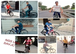 Celebration of  Poshan Pakhwada 2021 - Online Cycle Rally