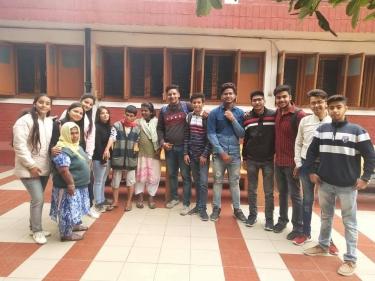 Visit to Shanti Nivas